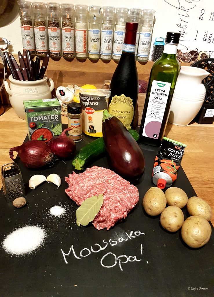 Ingredienserna till en syndigt god mousska