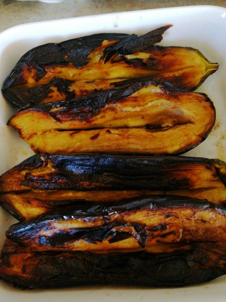 Stekta auberginer till turkisk söndagslunch