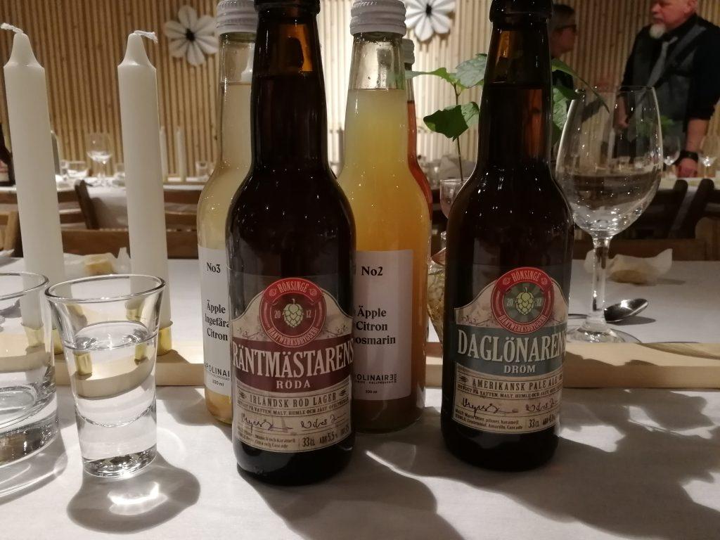 Skånsk öl och must