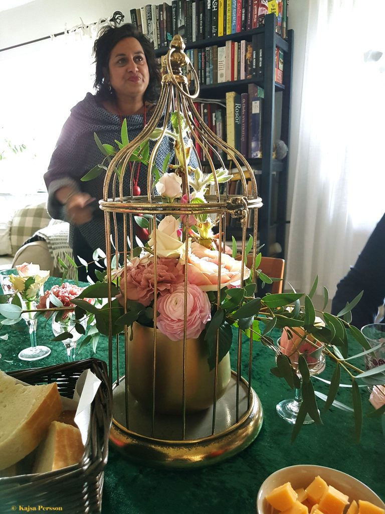 Fantastisk vacker dukning av Catarina på Kreativt bord & blomster