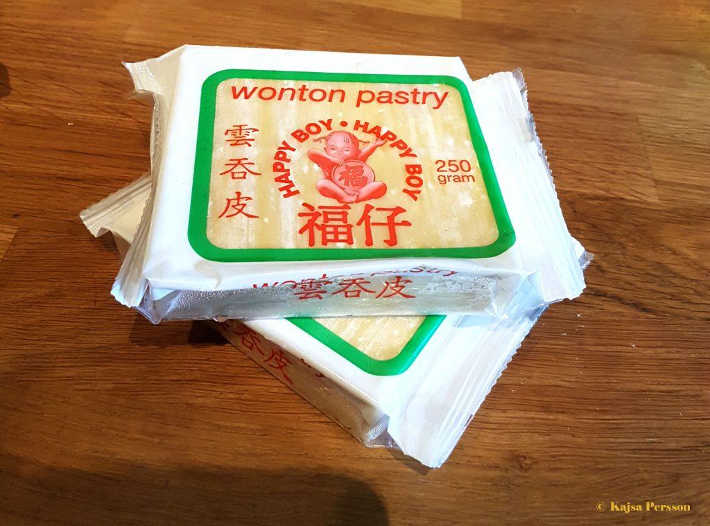 Wonton pasta till dumplings