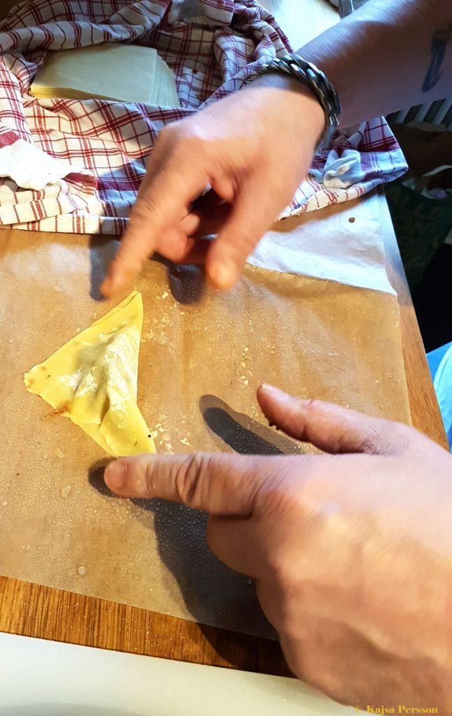 Vi viker dumplingsknyten