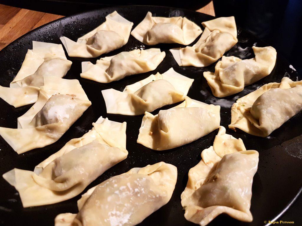 Kanske inte så snygga men dumplings lika väl