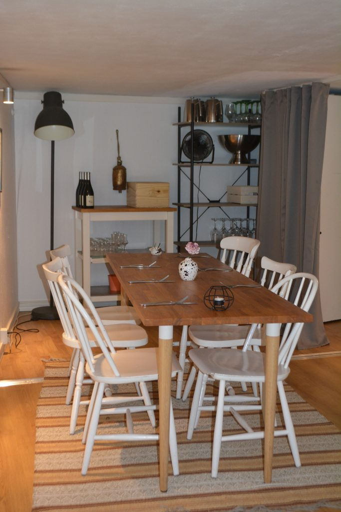 Plats för det lilla sällskapet på Sinti, Göteborg