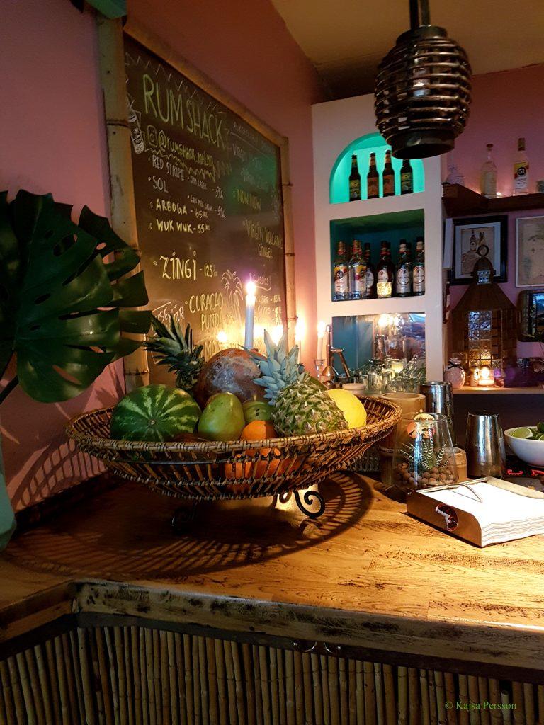 Karibisk känsla på Rum Shack