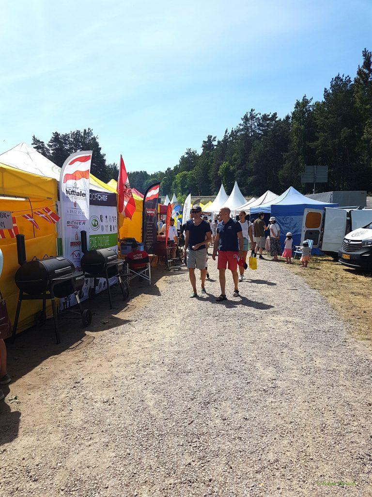 Grill SM i Brösarp 2018 matfestival Brösarp