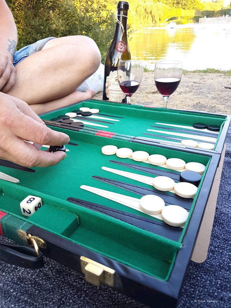 Backgammon ett kul strategi spel