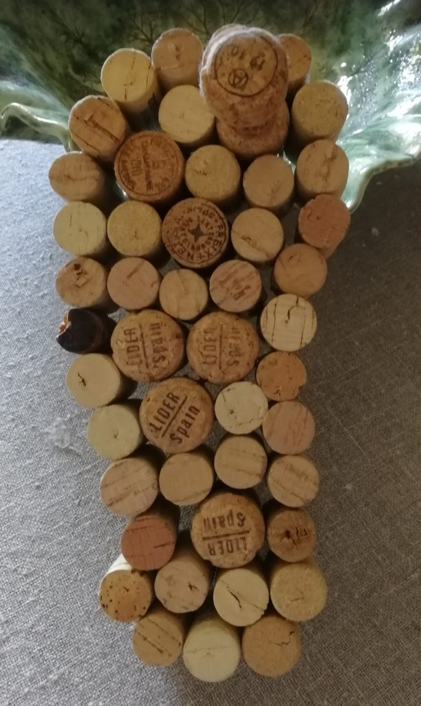 Flipflop av vinkorkar