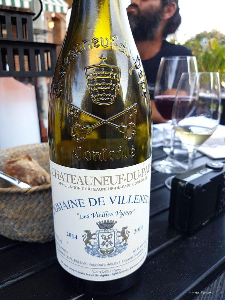 Domaine De Villeneu - Les Vielles Vignes 2014 - Chateauneuf Du Pape.
