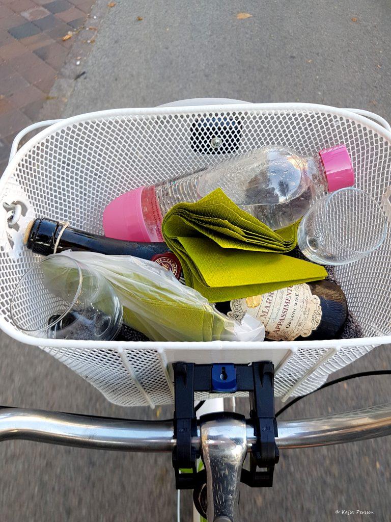 Fyll cykelkorgen med godsaker