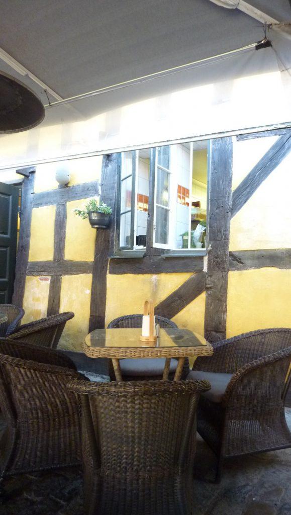 Fönsterna till köket på Drumbar