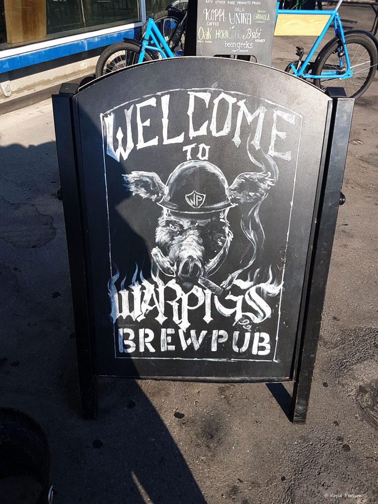 Warpigs Bryggeripub på Köttbyen, Köpenhman