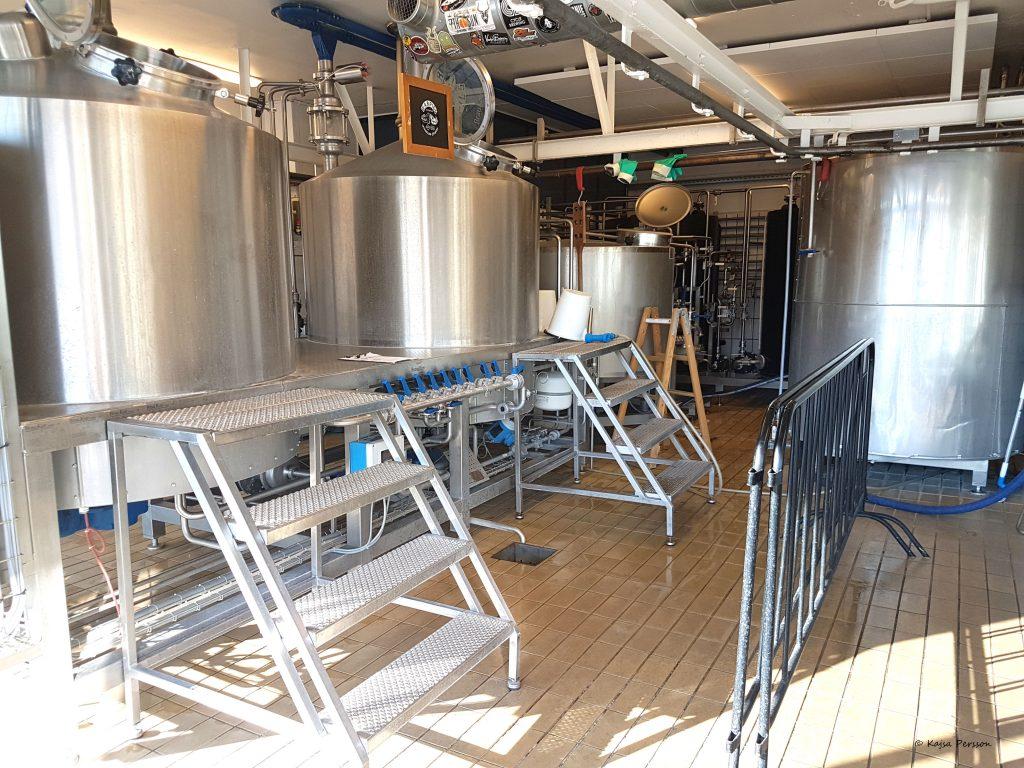 Bryggeridelen på Warpigs i Köttbyen, Köpenhamn