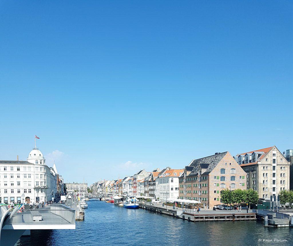 På väg till Nyhavn, Köpenhamn