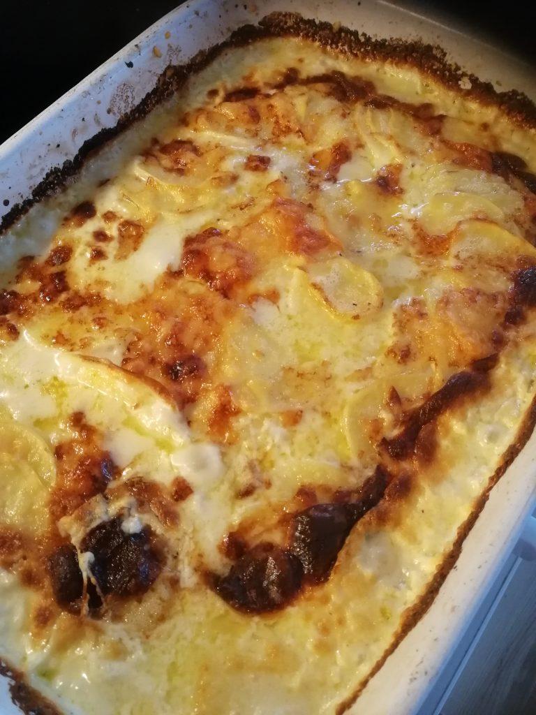 Klassisk potatisgratäng