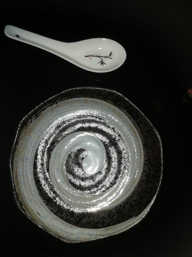 Vackert proslin på Que