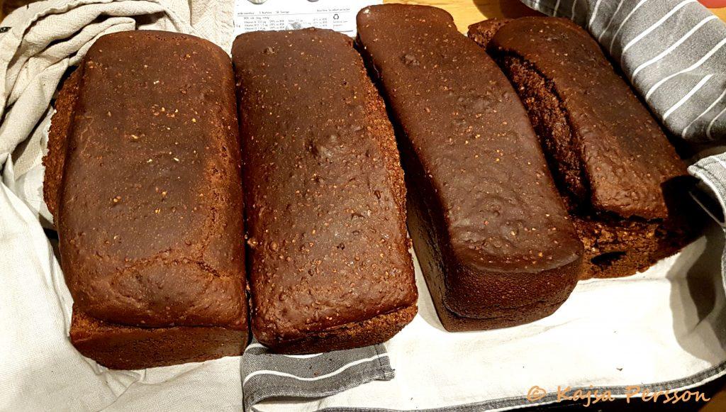 Nybakad kavring efter gott bröd recept