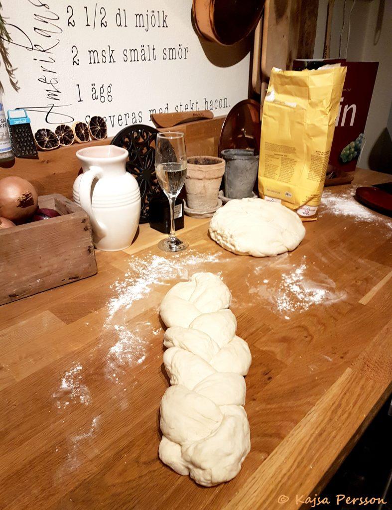 Ljust bröd på gång med Lenas goda bröd recept