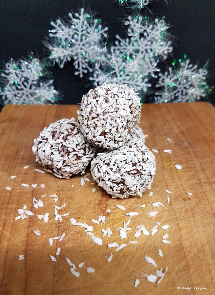 Hembakade Chokladbollar