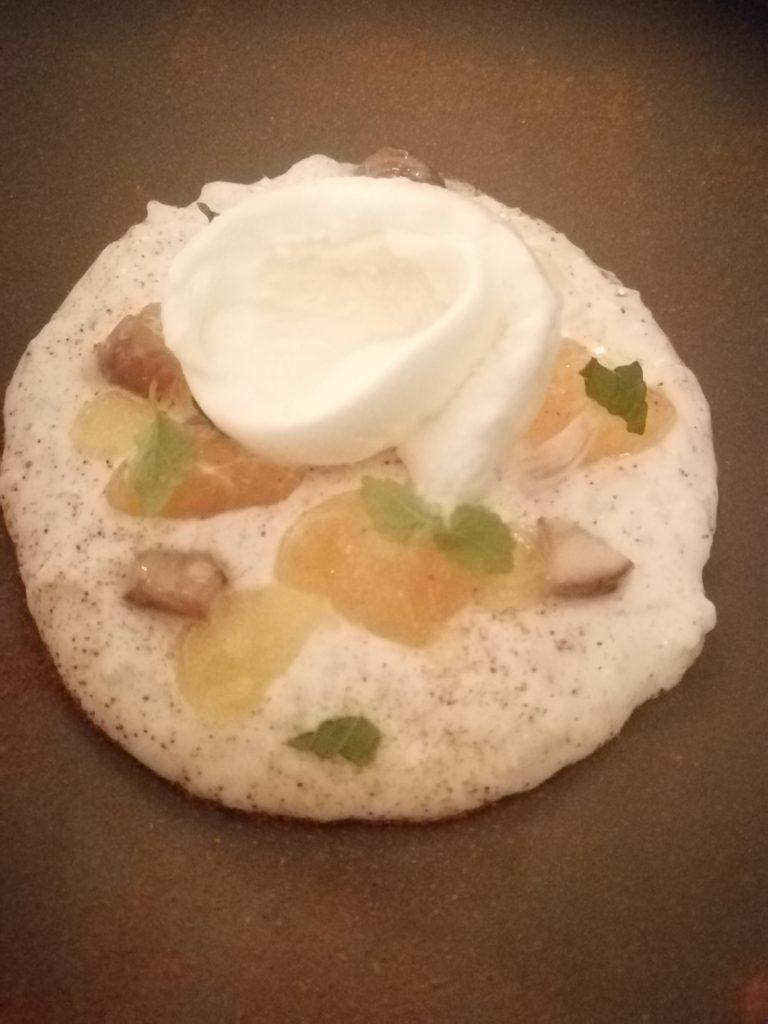 Ricepudding...wow, vilken rätt på Texture, stjärnrestaurang i London