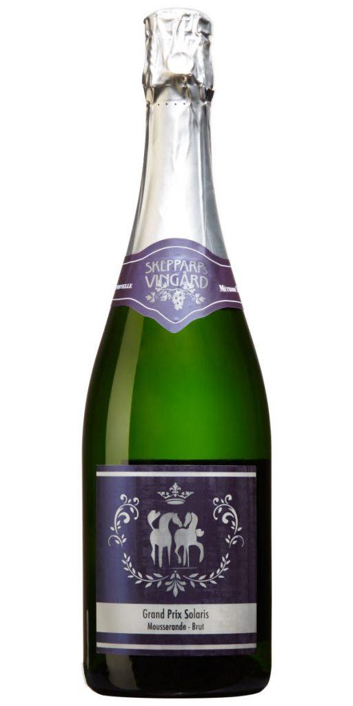 Mousserat vin från Östelen, Skåne