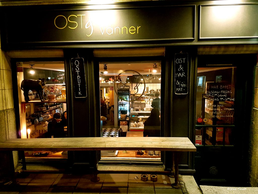 Ostbutik och ostbar i Malmö