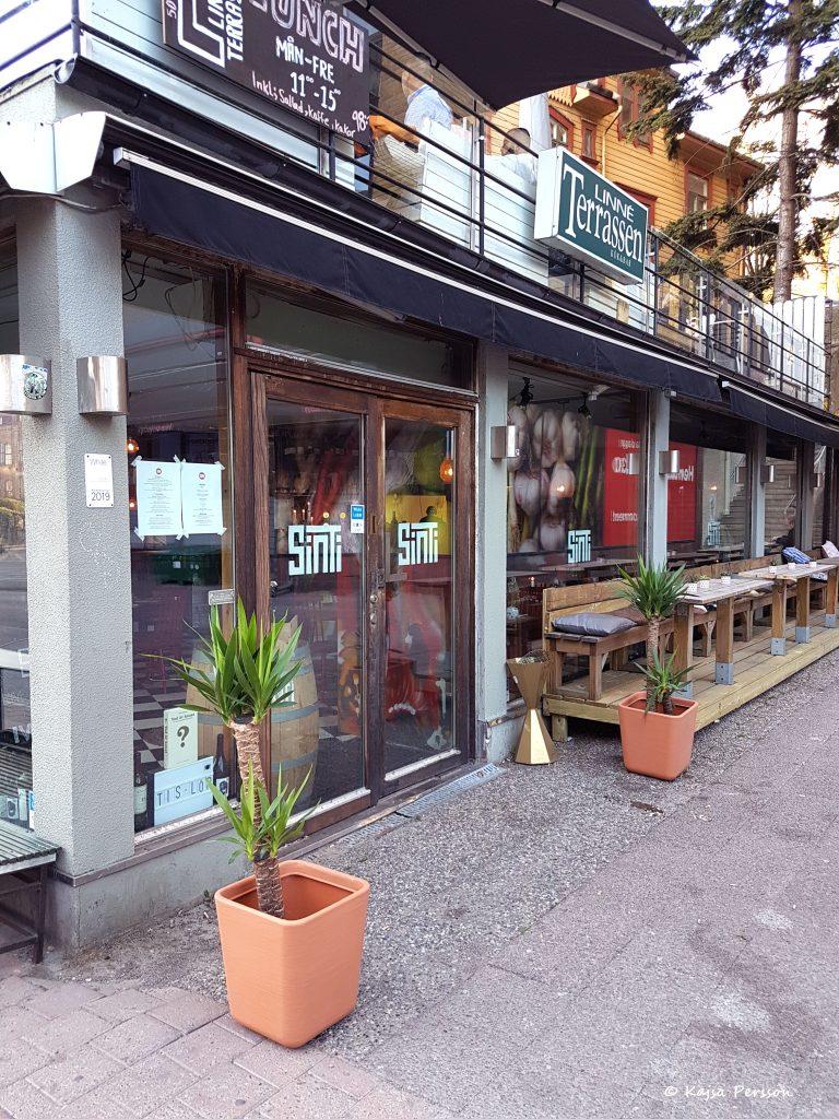 Restaurang Sinti i Göteborg
