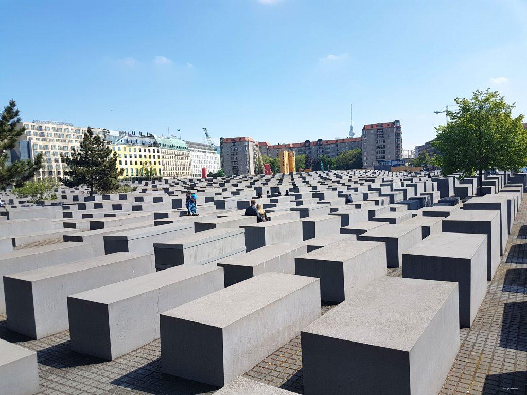 Förintelesemonumentet i Berlin