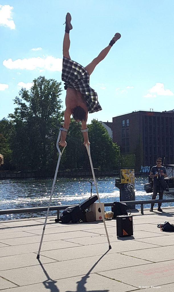 Street performance i Berlin