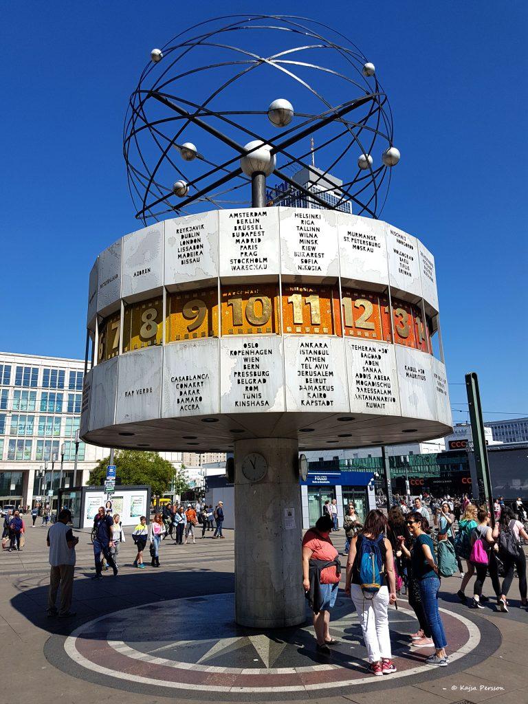 Berlins Världur på Alexander Platz