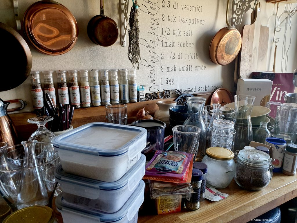 Ett kaotisk kök