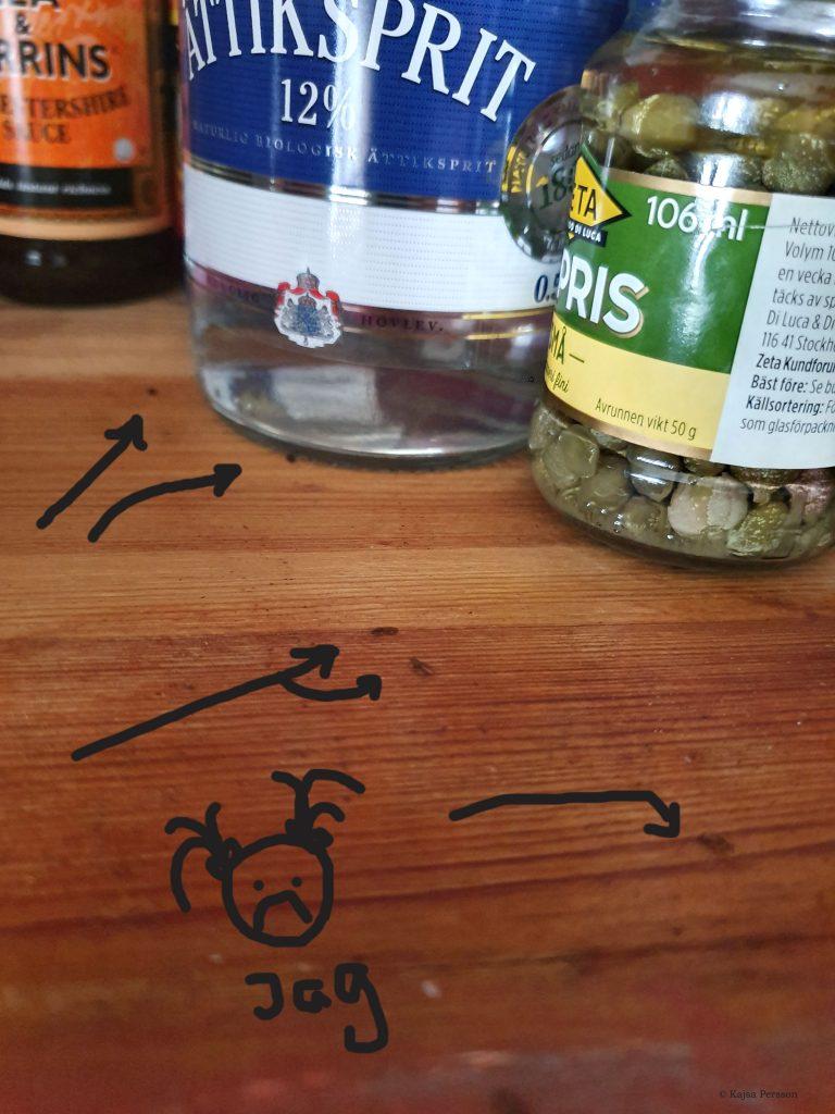 Plattbaggar i köksskåp