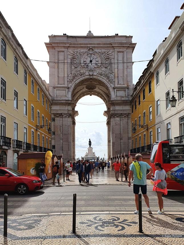 Lissabons triumfbåge Arco do Triunfo