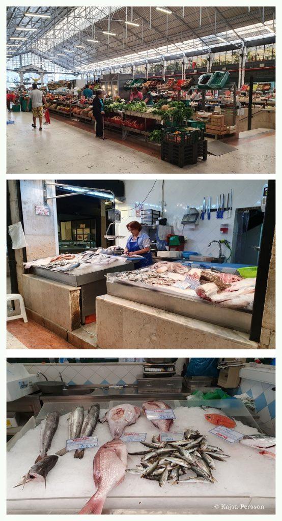 Saluhallen och fiskdisken