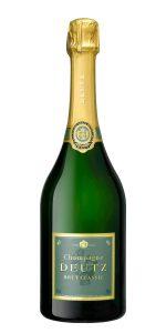 Deutz-Brut Classic, en champagne på alla tre klassiska sorter.