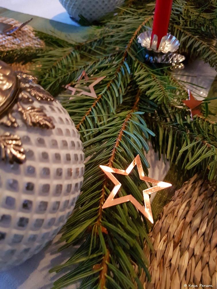 Juldukning med granris