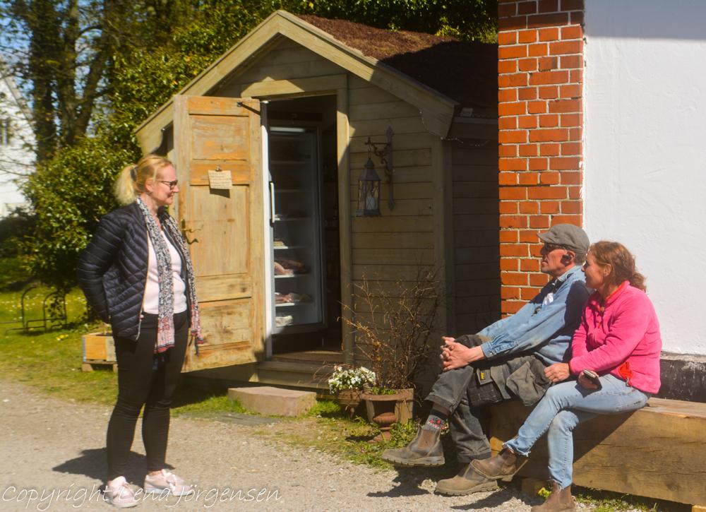 En pratstund med Johan och Kristian på Ekebogård