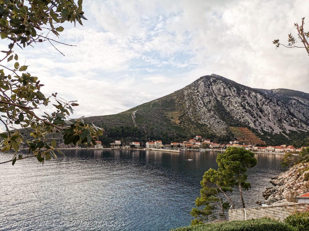 En liten fiskeby i Kroatien