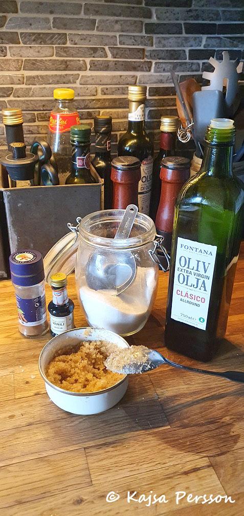 Alla ingredienser finns i ditt kök för ett hemma spa