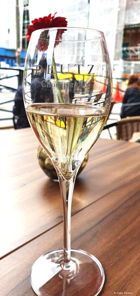 Deutz Champagne på Mrs. Brown