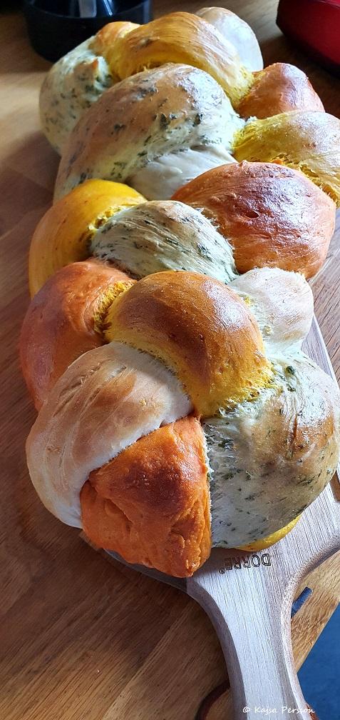 Brödbak med härliga färger