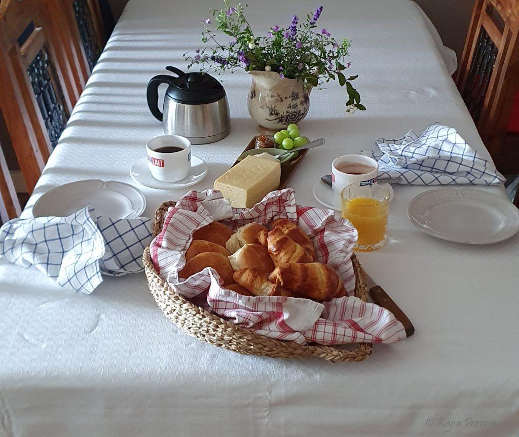 frukost a´la Paris