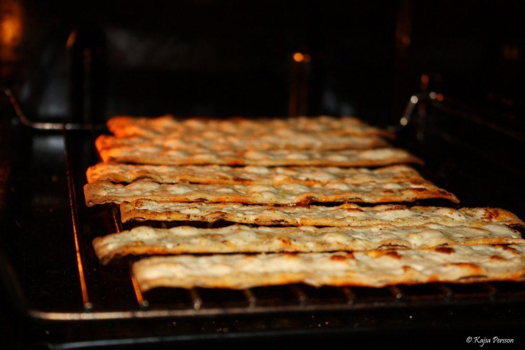 Tunnbrödschips fixas lätt i ugnen