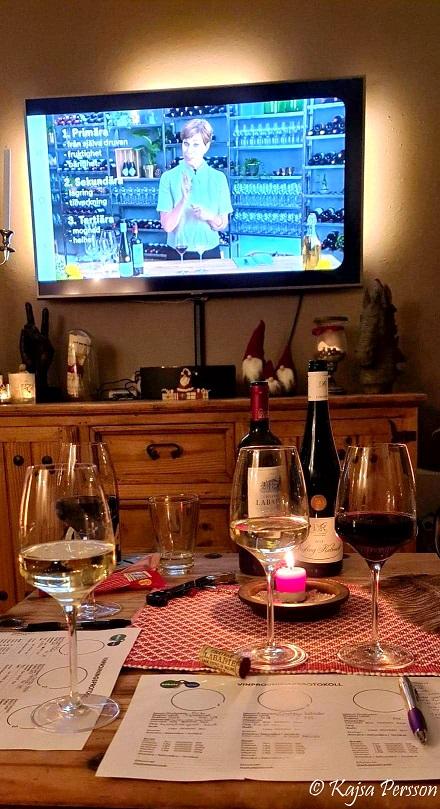 Första lektionen online med Misha Billings i vin och mat i kombination