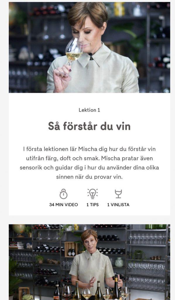 Lektion i Vin och mat i kombination med Misha Billings