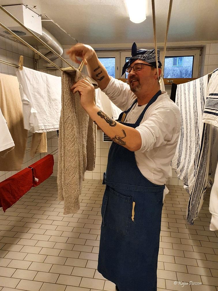 Frufridagen hänger tvättt