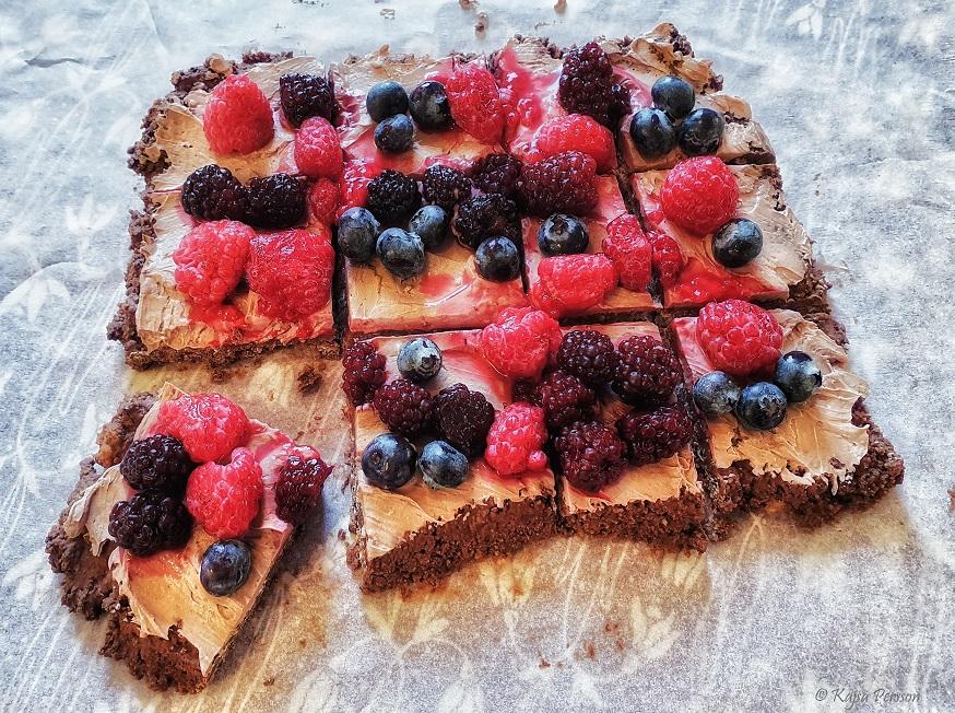 Nutelladröm med färska frukter