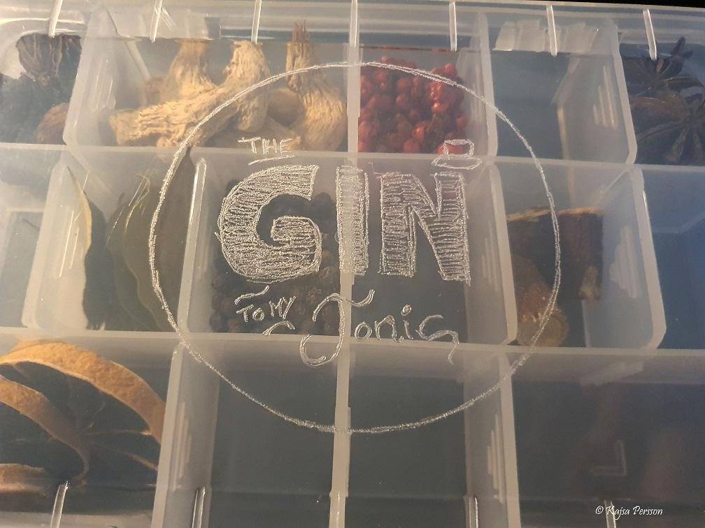 Graverad Gin och tonic låda