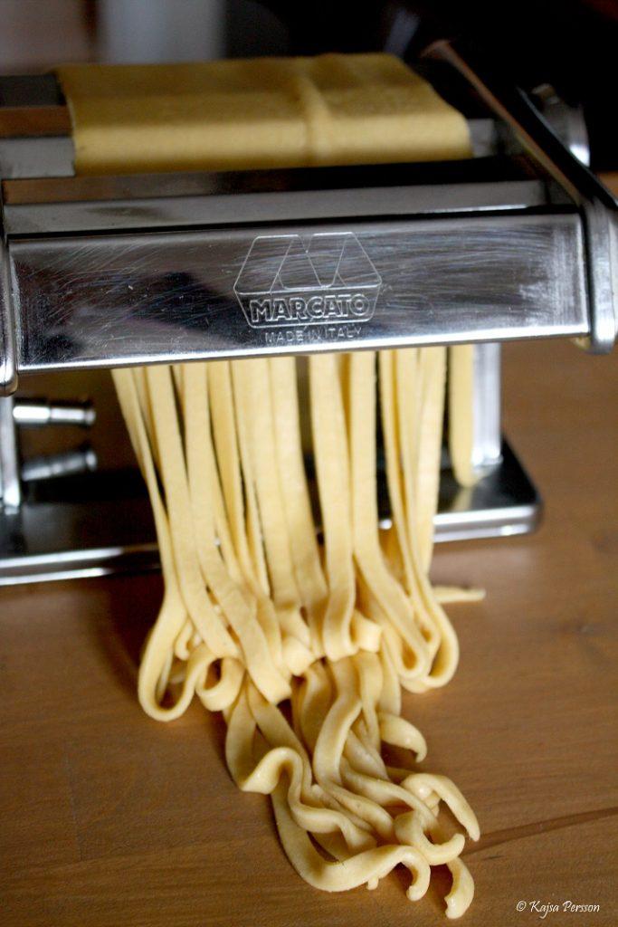 Handgjord pasta