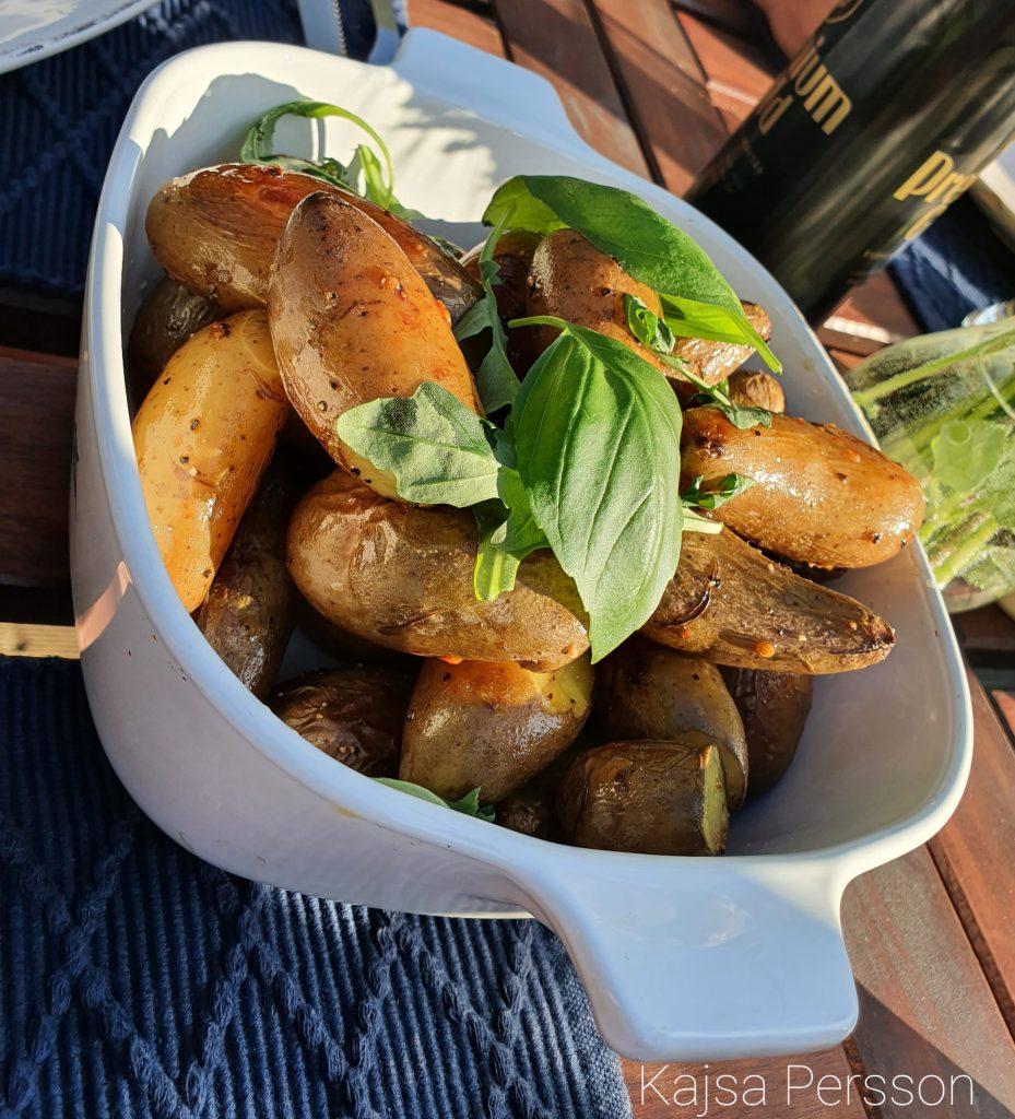 Rostade potatis till biff Tagliata